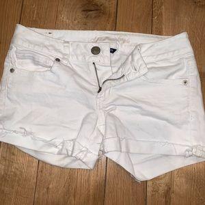 Pants - Size 4 American Eagle white jean shorts